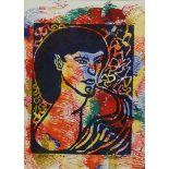 """Edgar Mrugalla, """"Portrait einer Frau"""""""