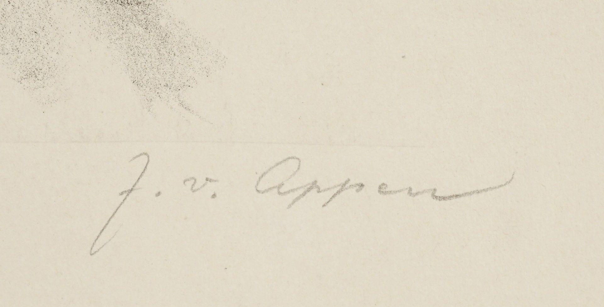 """J. von Appen, """"Portrait Gerhart Hauptmann"""" - Bild 4 aus 4"""