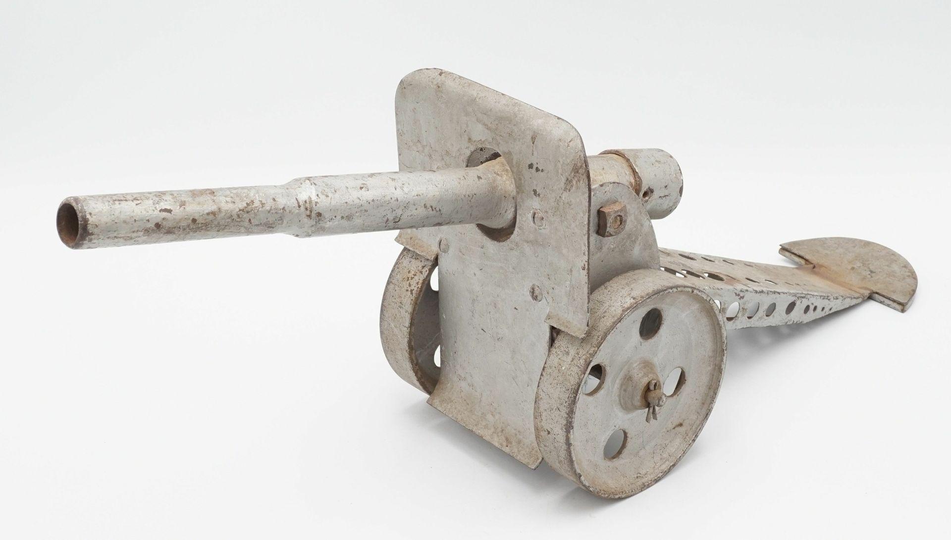Spielzeug Kanone, 1. Hälfte 20. Jh. - Bild 2 aus 2