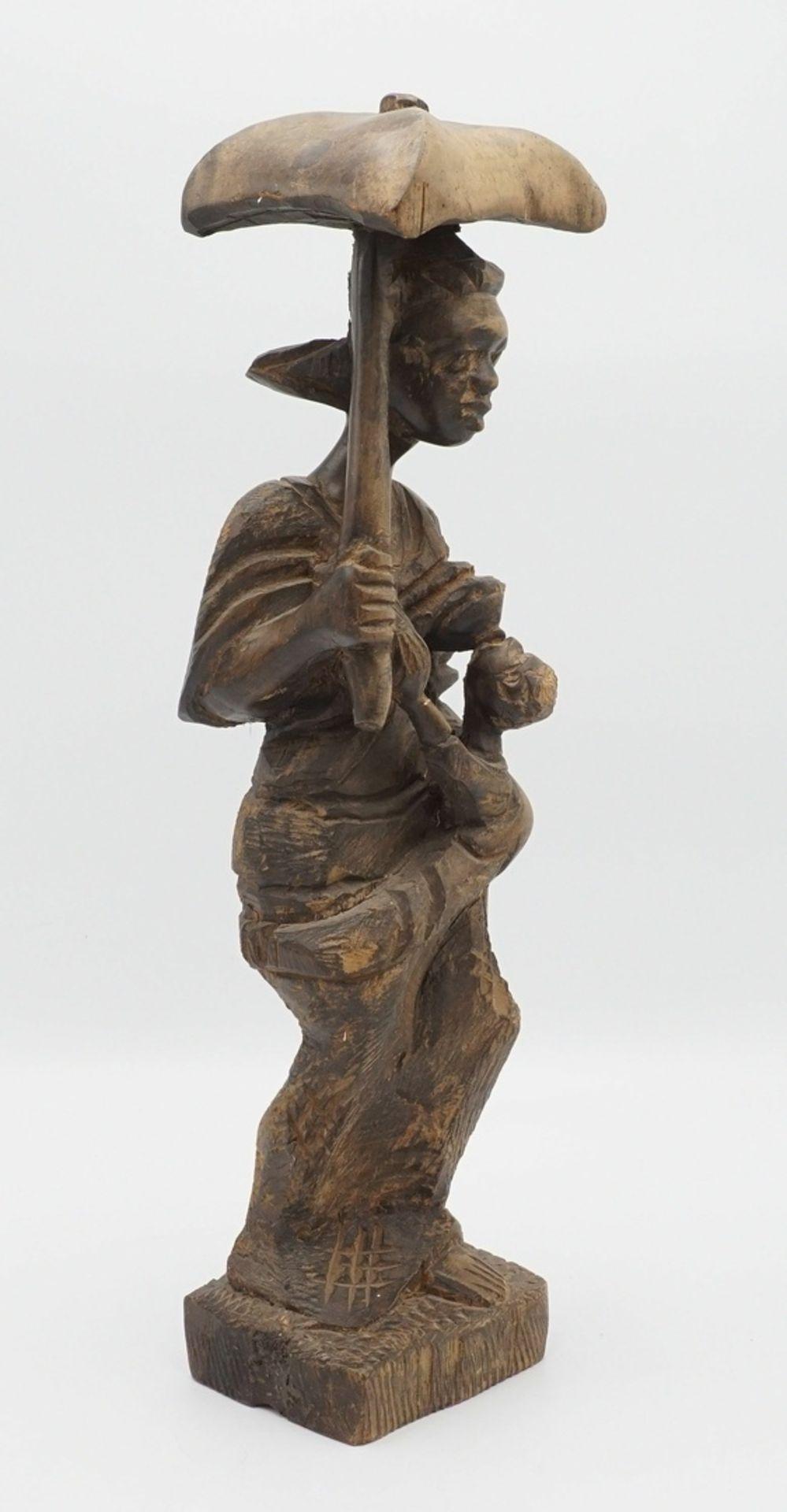 Mutter mit Kind, Afrika, 2. Hälfte 20. Jh. - Bild 2 aus 3