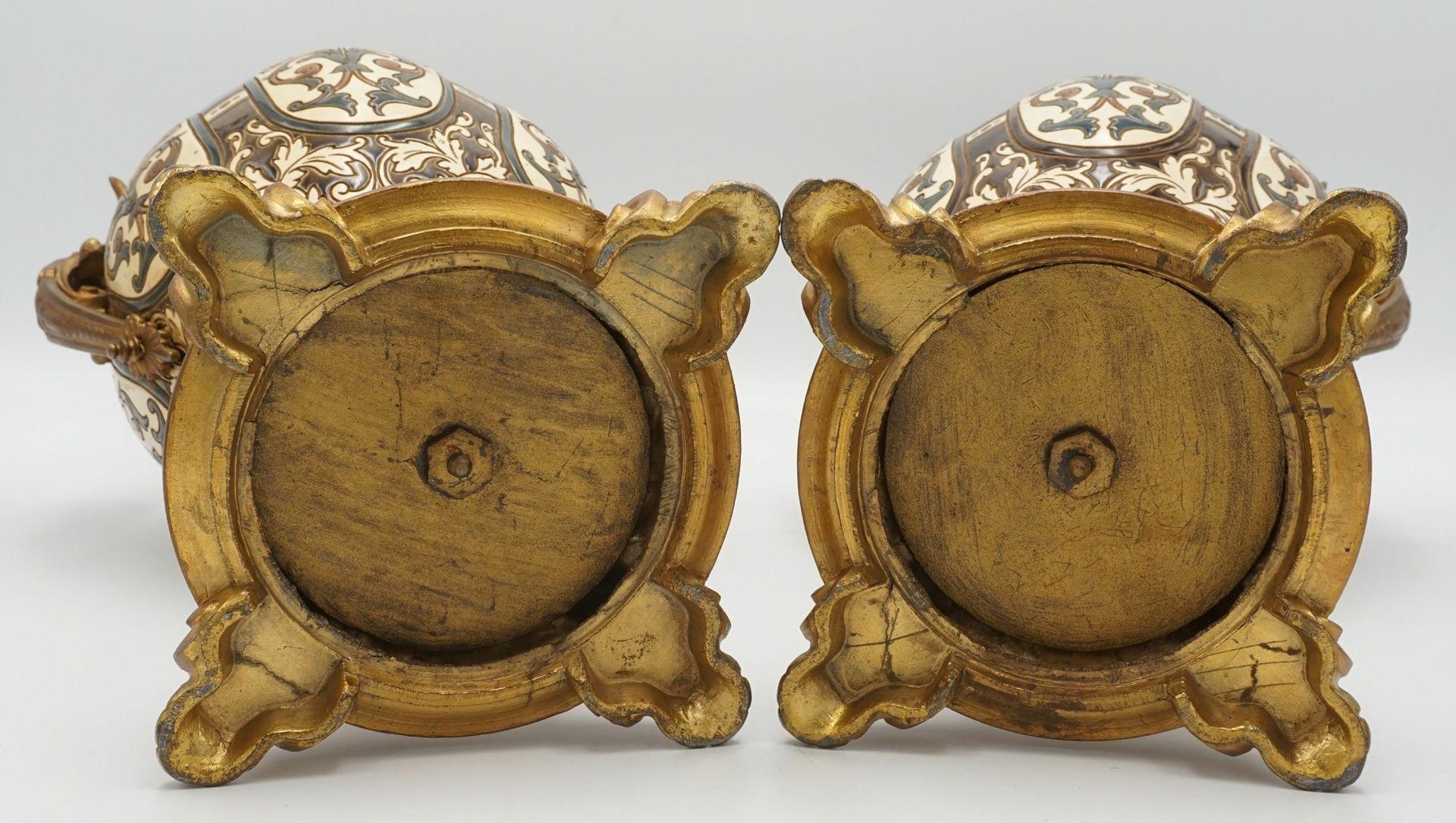 Zwei Kaminaufsätze, Historismus - Bild 6 aus 6