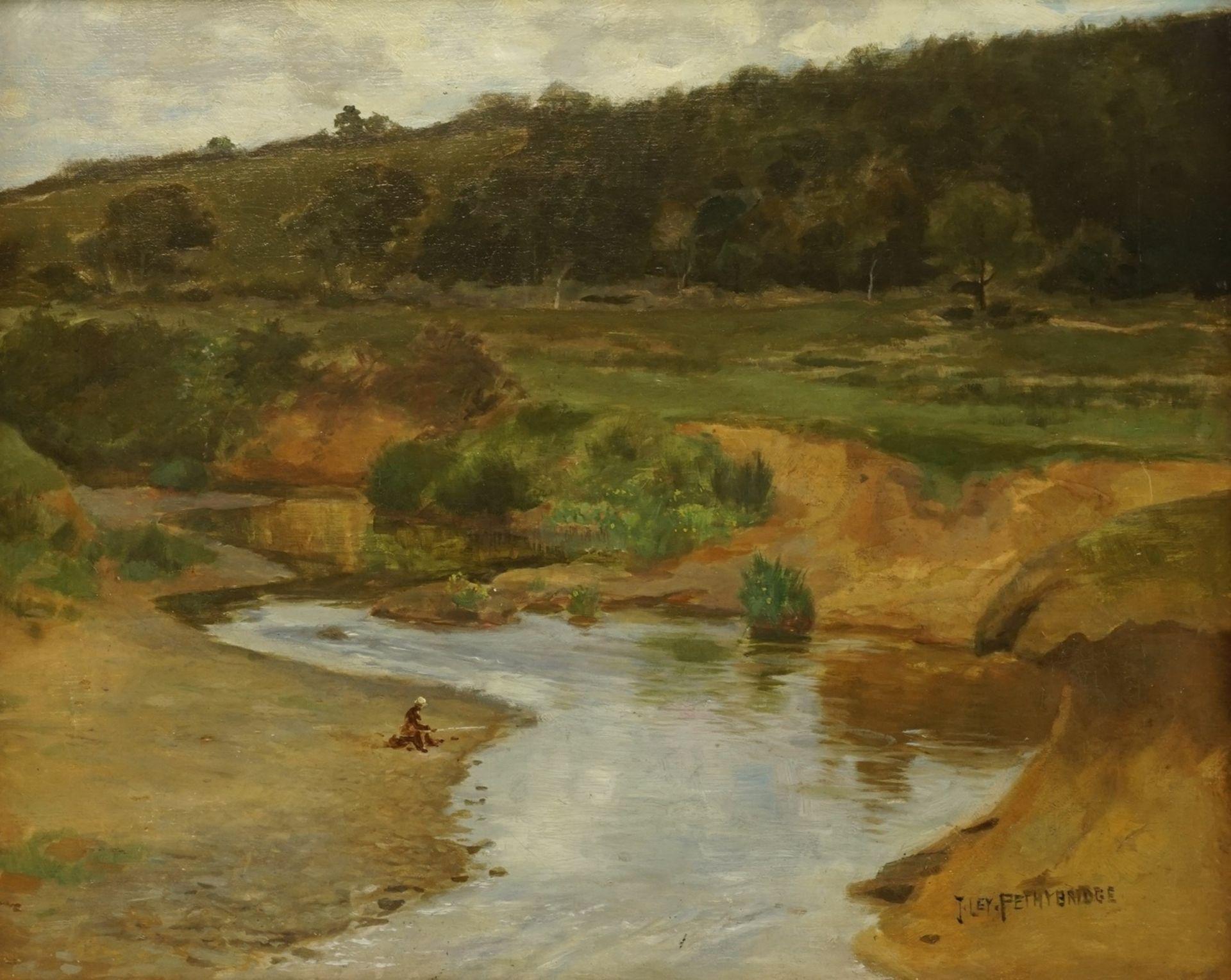 "John Ley Pethybridge, ""Am Flussufer"""