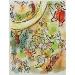 """Marc Chagall, """"Le plafond de l'Opéra de Paris"""" (Das Deckengemälde der Pariser Oper)"""