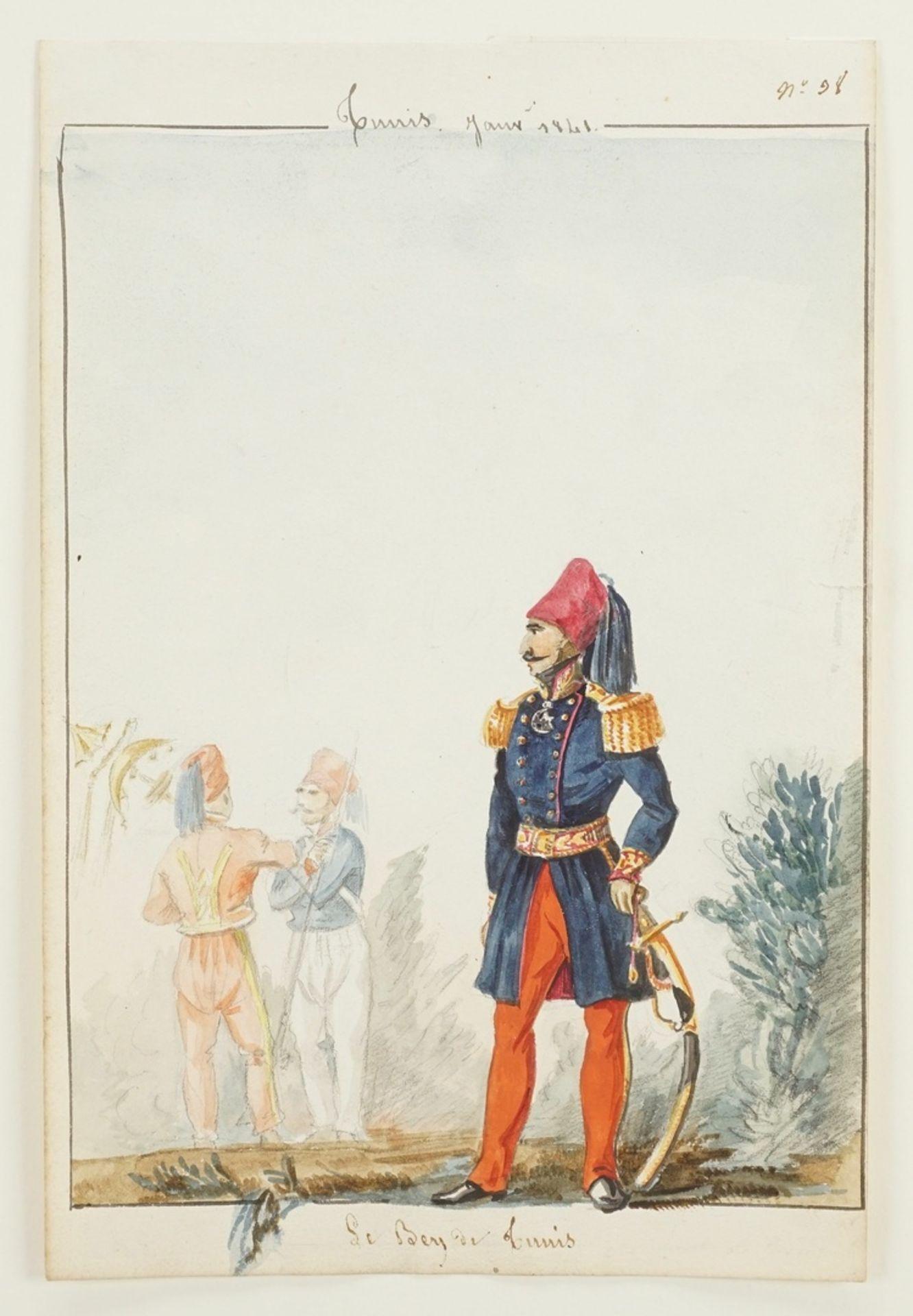 """Armand de Pasmond, """"Le Bey de Tunis"""" - Bild 3 aus 3"""