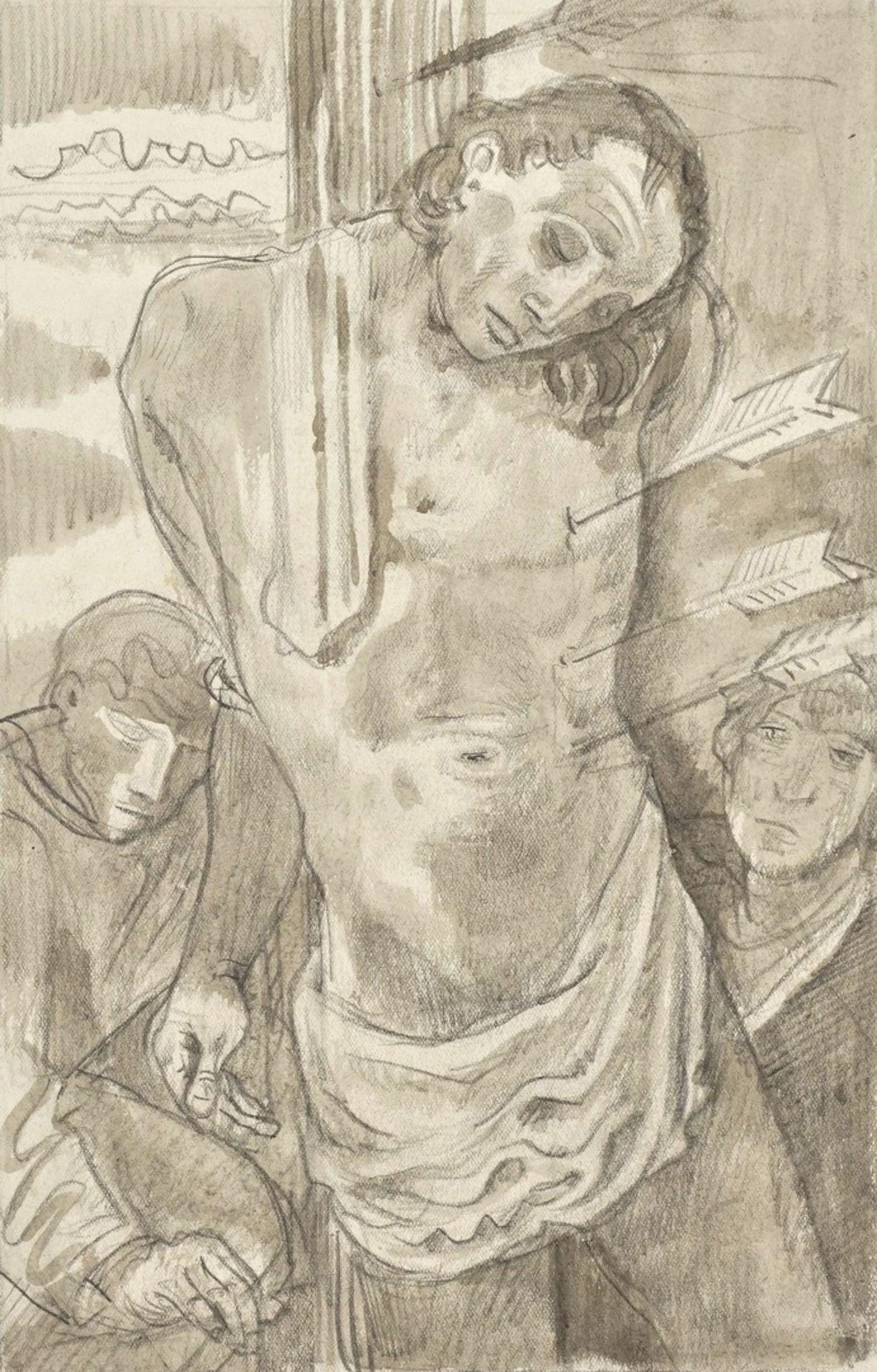 "Richard Schwarzkopf, ""Heiliger Sebastian"""