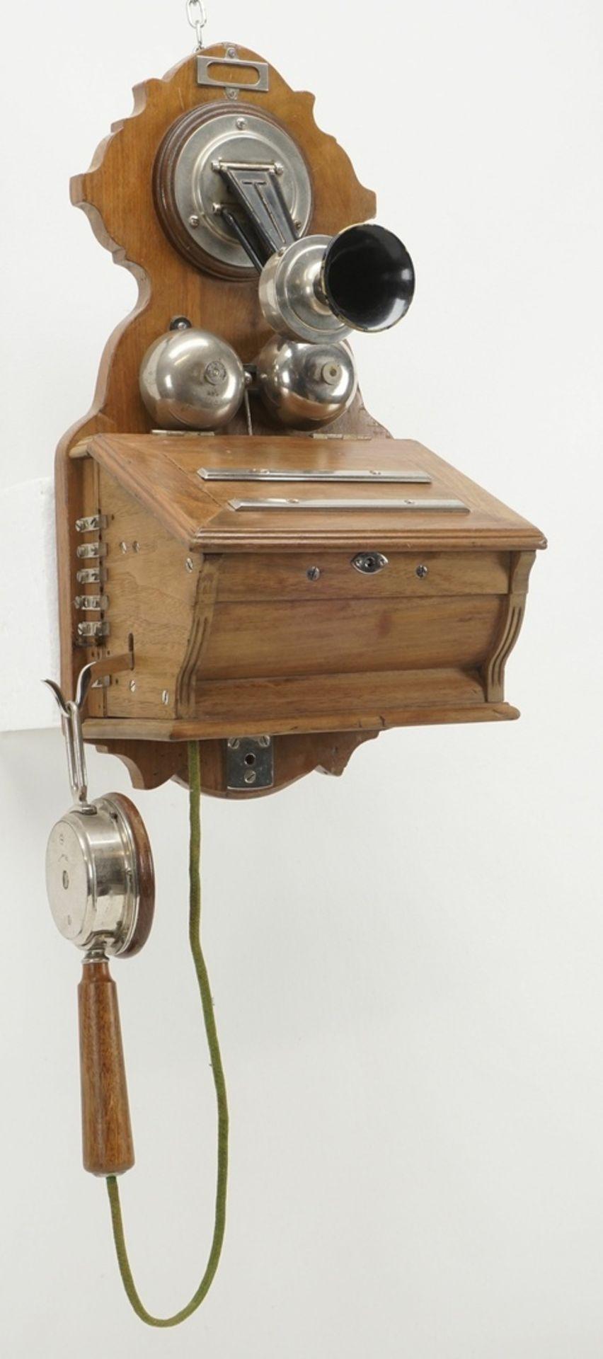 F. Schuchhardt Wandtelefon OB 04, um 1900