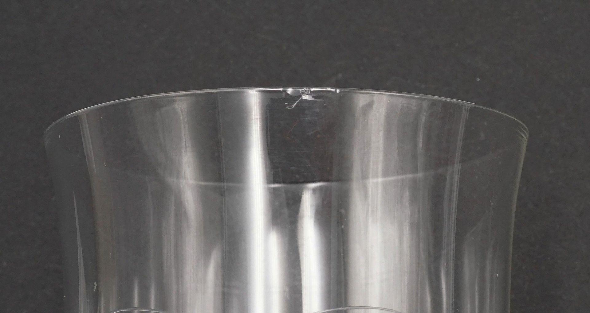 Sechs Wassergläser und fünf Weingläser - Bild 3 aus 3