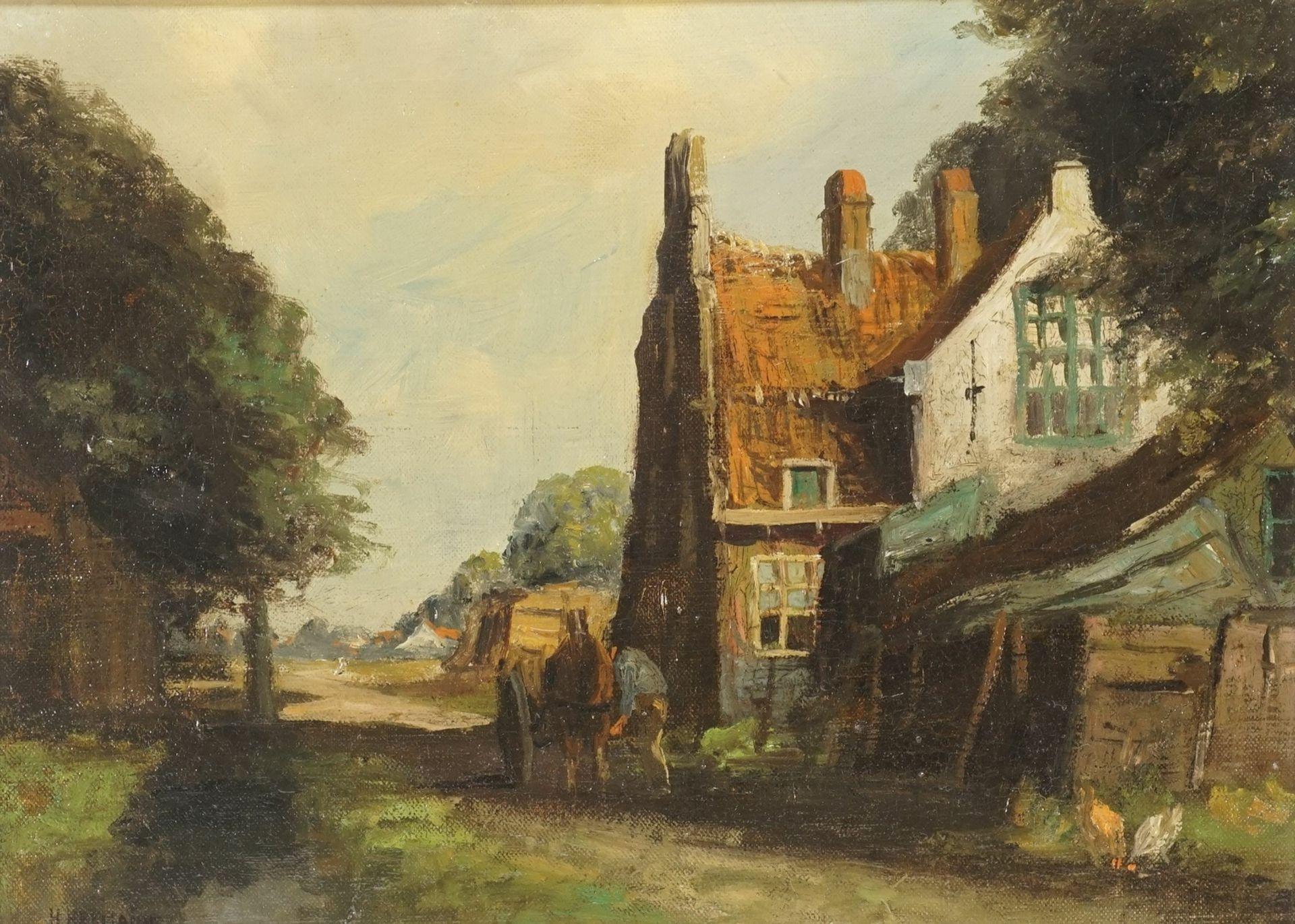 Heinrich Hermanns, Impression aus Delft (Niederlande)