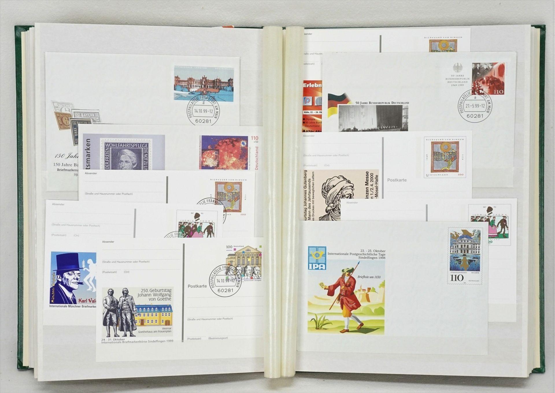 342 Ganzsachen Karten und Briefe BRD - Bild 3 aus 4