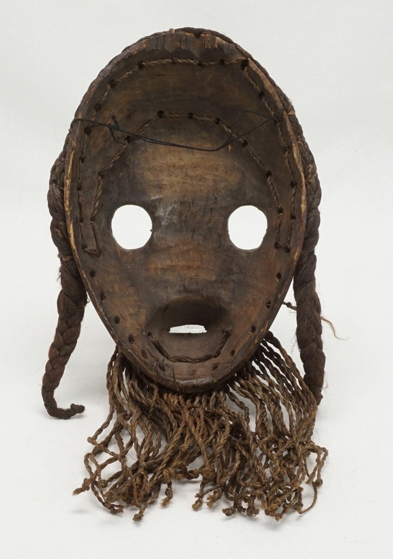 "Feuermeldermaske ""zakpai"", Dan, Elfenbeinküste (Côte d'Ivoire) - Bild 2 aus 2"