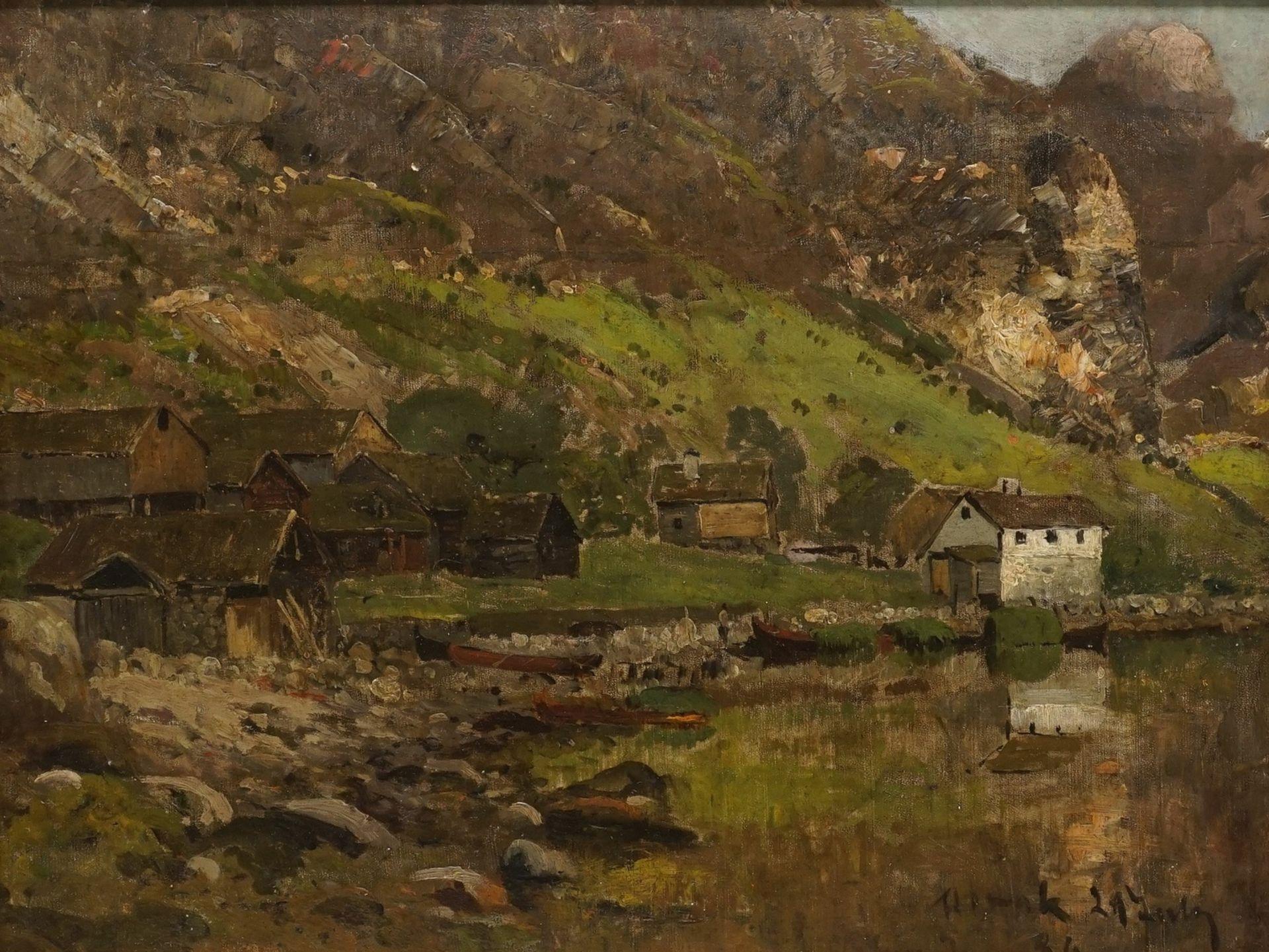 Gustav Adolf Schweitzer, Norwegische Fjordlandschaft