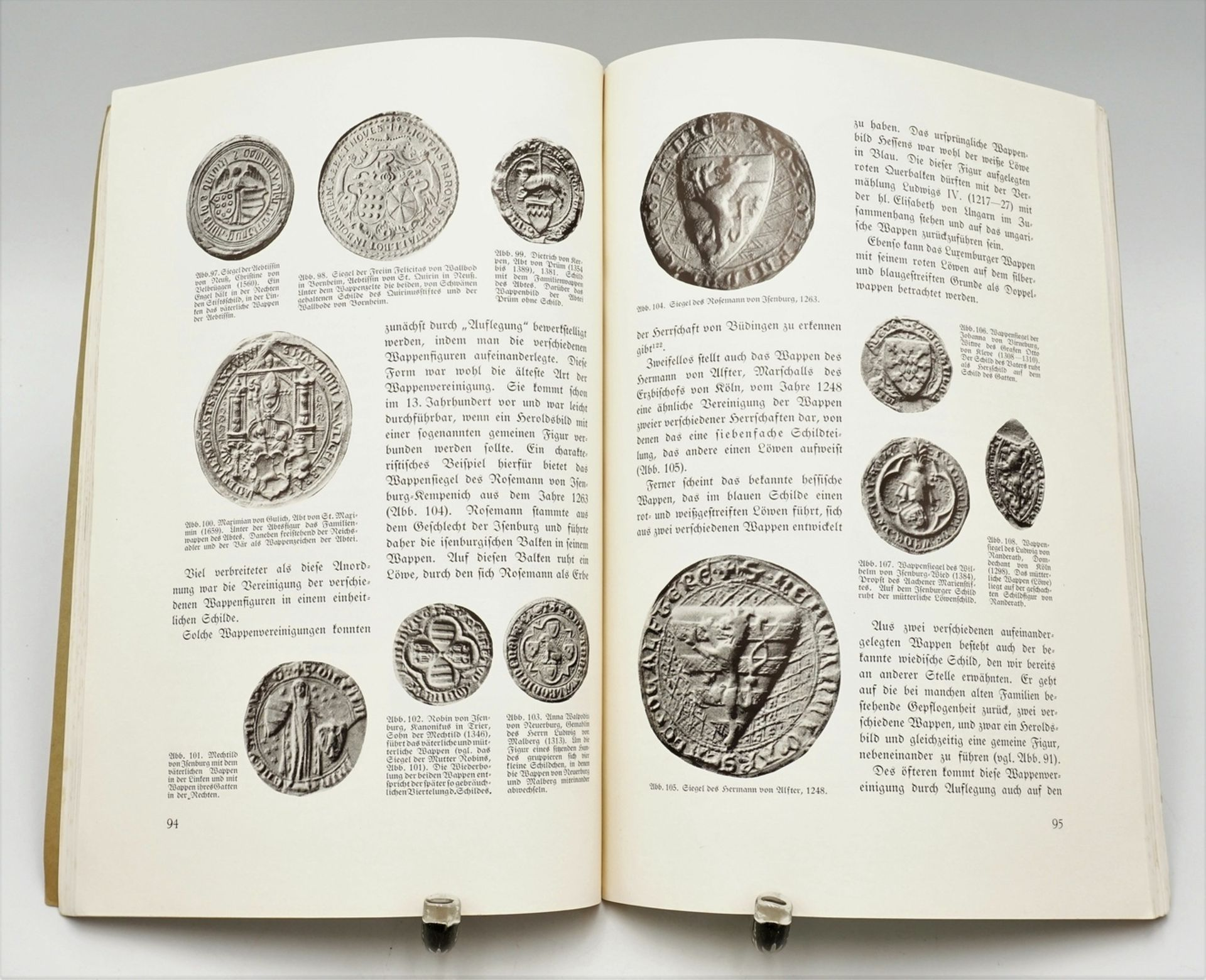 Rheinische Heraldik und Urkundenlehre - Bild 2 aus 2