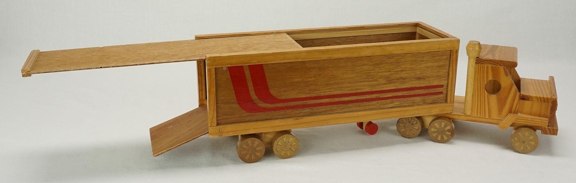 Holz Truck, 2. Hälfte 20. Jh. - Bild 3 aus 3