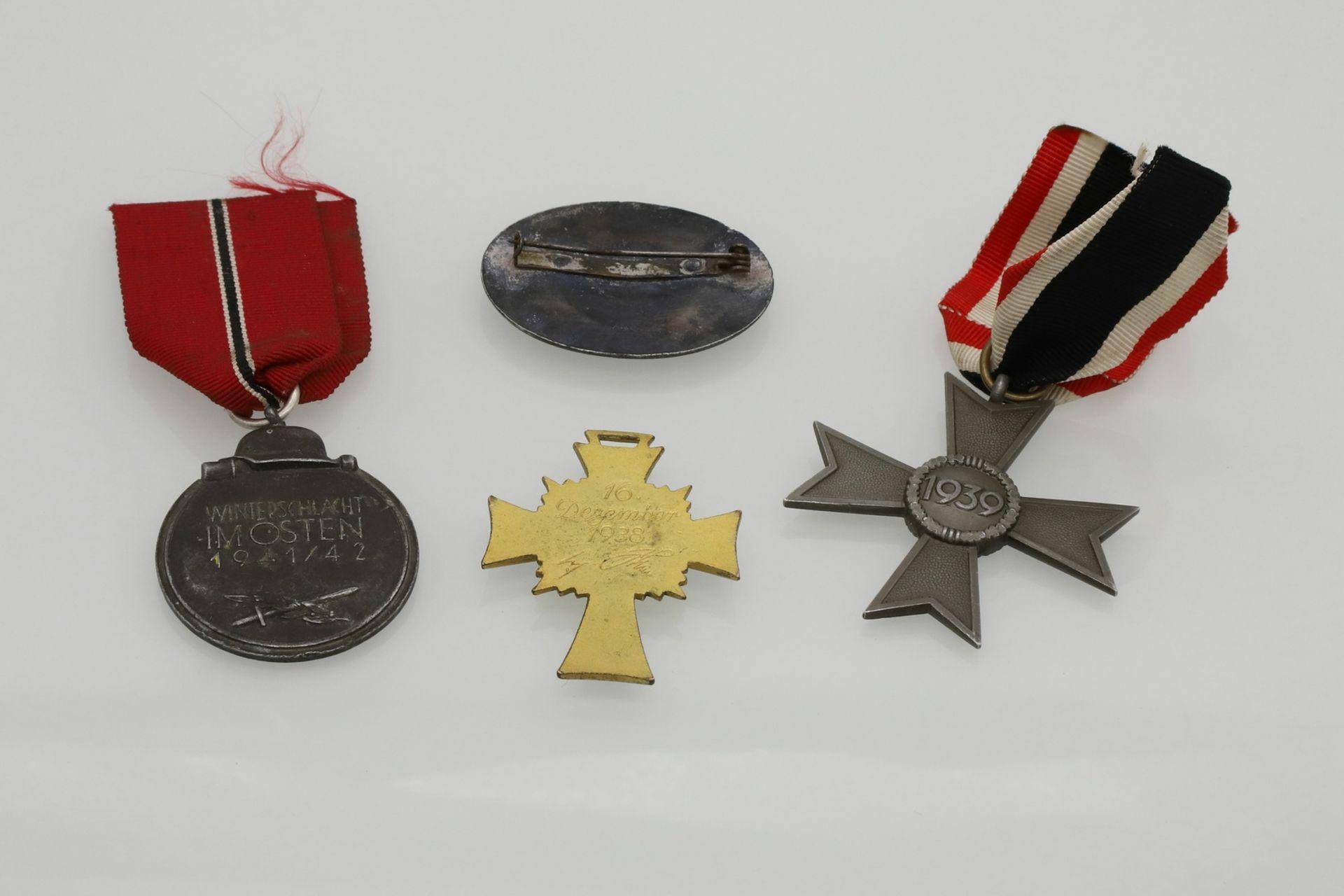 Vier Orden III. Reich - Bild 2 aus 2