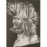 """Ernst Fuchs, """"Der junge Moses"""""""