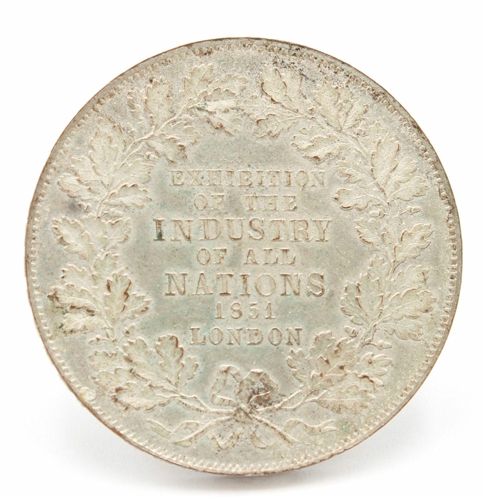 "Medaille zur ""Great Exhibition"" in London 1851"