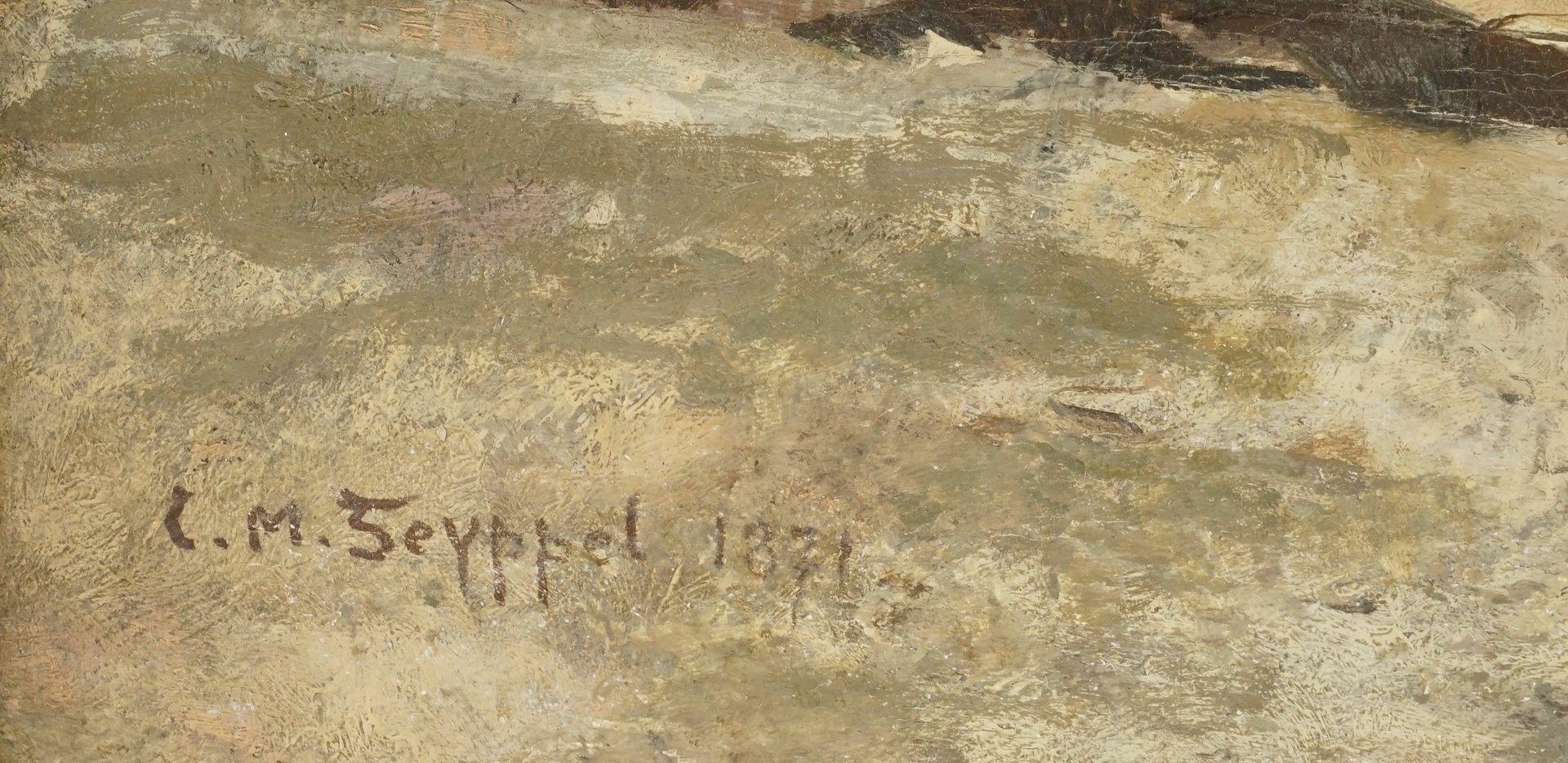 "Carl Maria Seyppel, ""Am Kirchenportal"" - Bild 4 aus 4"
