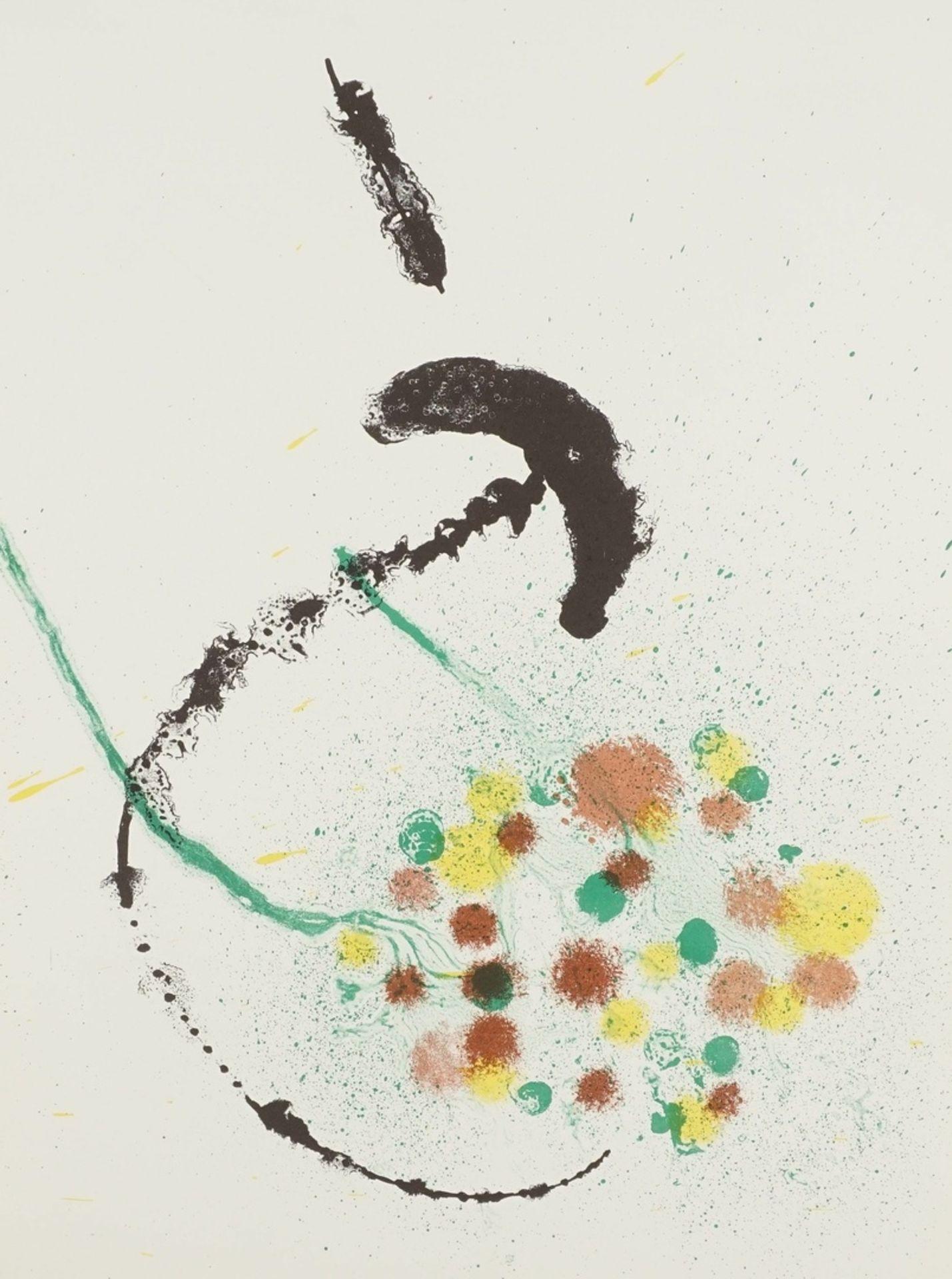 """Joan Miró, """"La Fille du Jardinier I - Composition III"""" (Die Tochter des Gärtners, Komposition III)"""