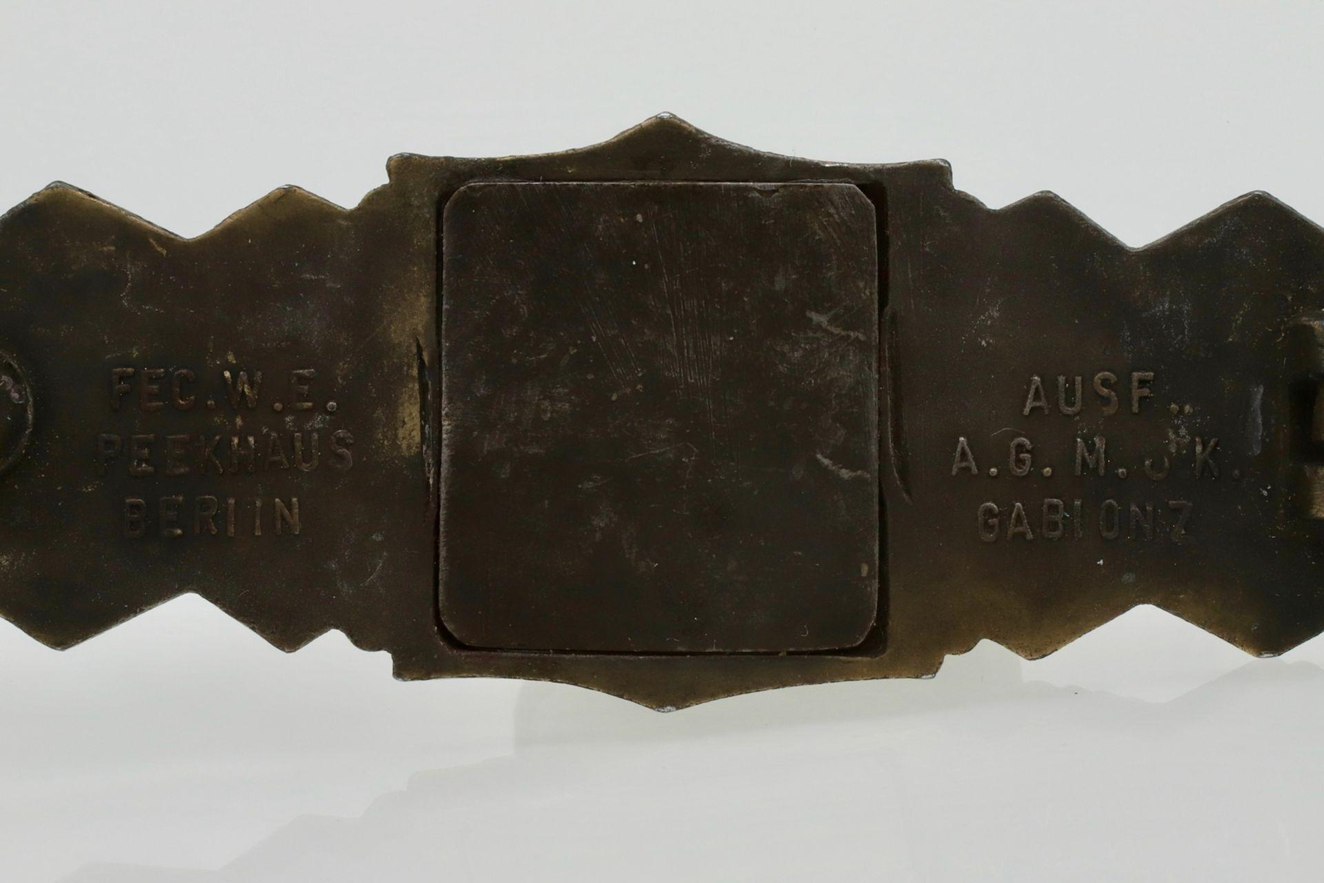 Nahkampfspange in Bronze - Bild 4 aus 4