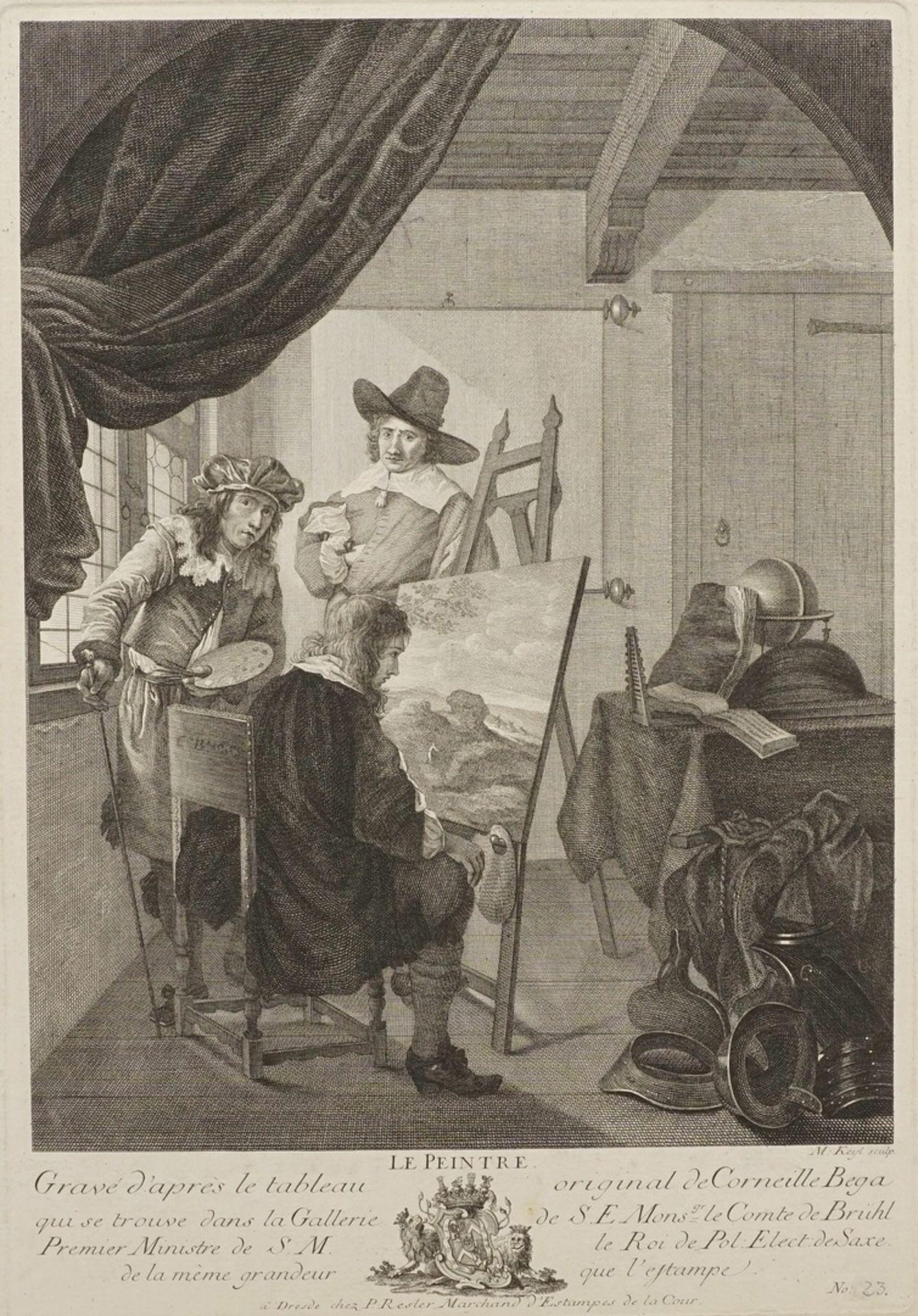 "Cornelis Pietersz Bega, ""Le Peintre"" (Der Maler)"