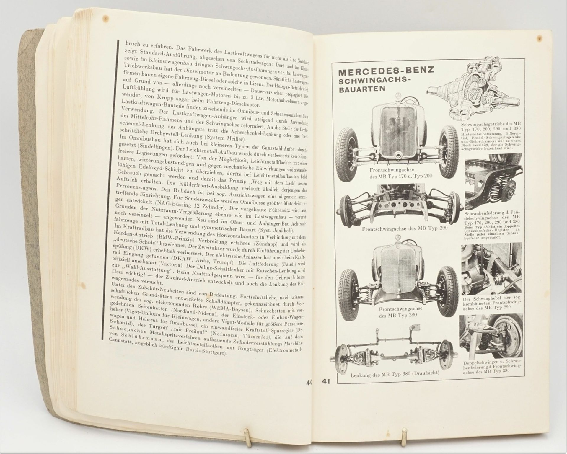 """Allgemeiner Deutscher Automobil-Club e.V. München-Berlin, """"Technisches ADAC-Jahrbuch 1933-34"""" - Bild 4 aus 4"""