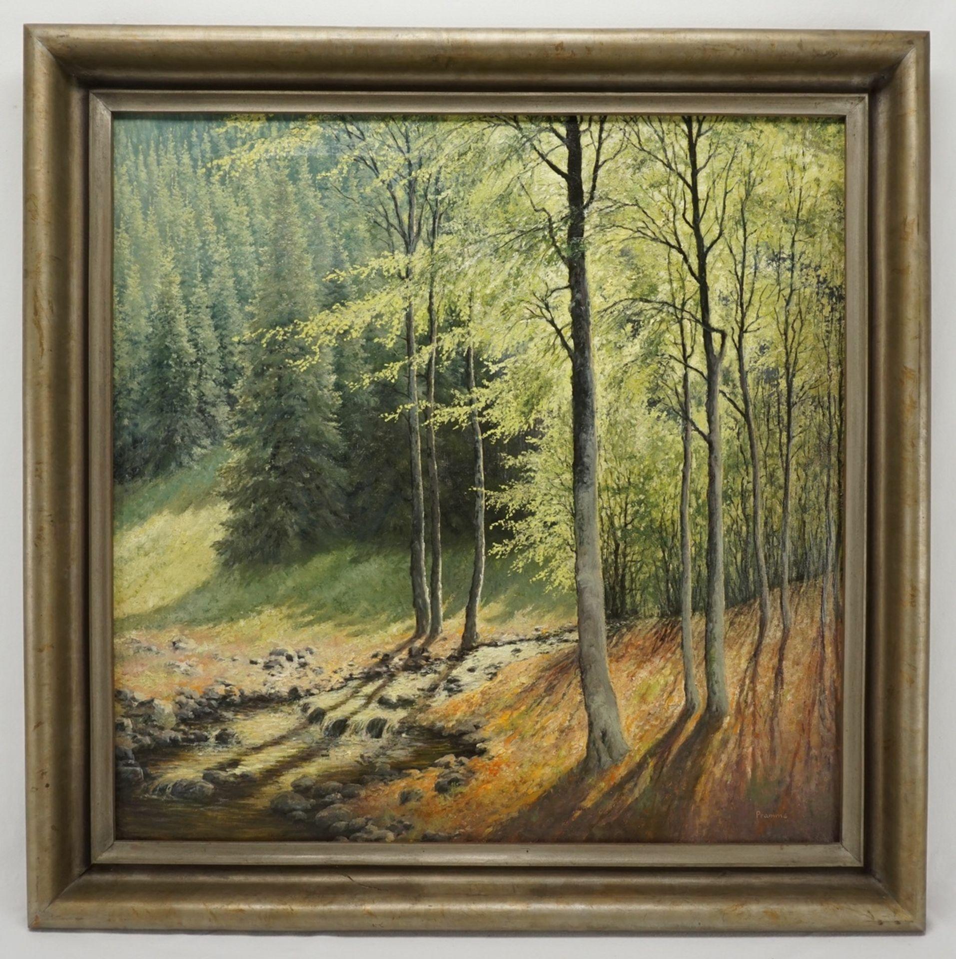 """Wilhelm Pramme, """"Im Klostergrund"""" (bei Blankenburg / Harz) - Bild 2 aus 4"""