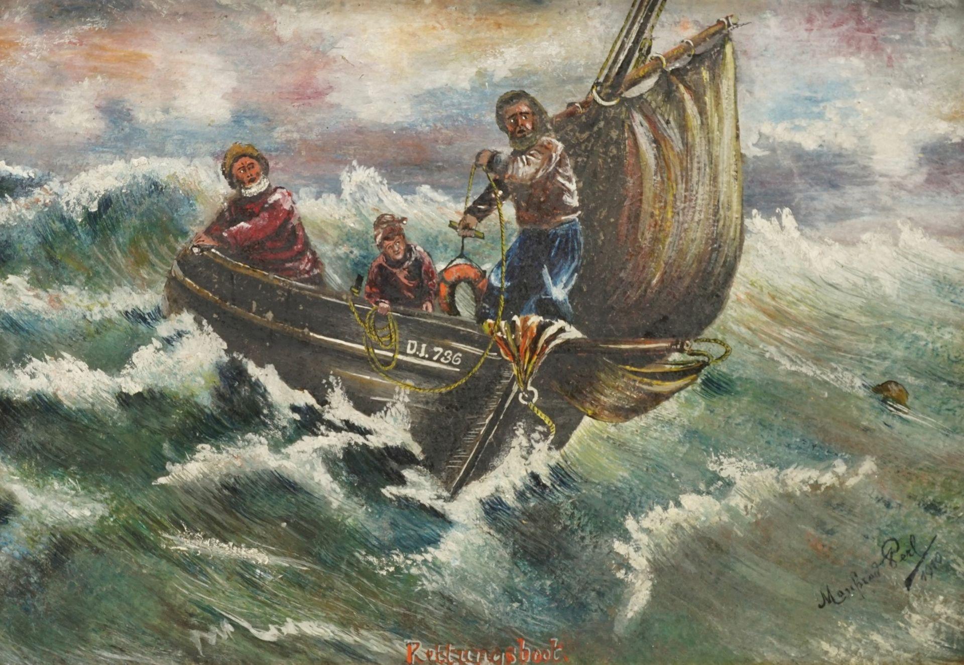 """Manfred Perl, """"Rettungsboot"""" - Bild 2 aus 4"""