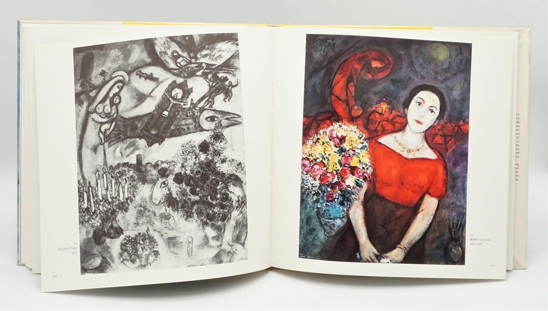 """André Pieyre de Mandiargues, """"Chagall"""", mit einer Originallithografie - Bild 5 aus 6"""