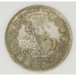 """Silbermedaille """"SEDISVAKANZ"""" Bistum Hildesheim, 1761"""