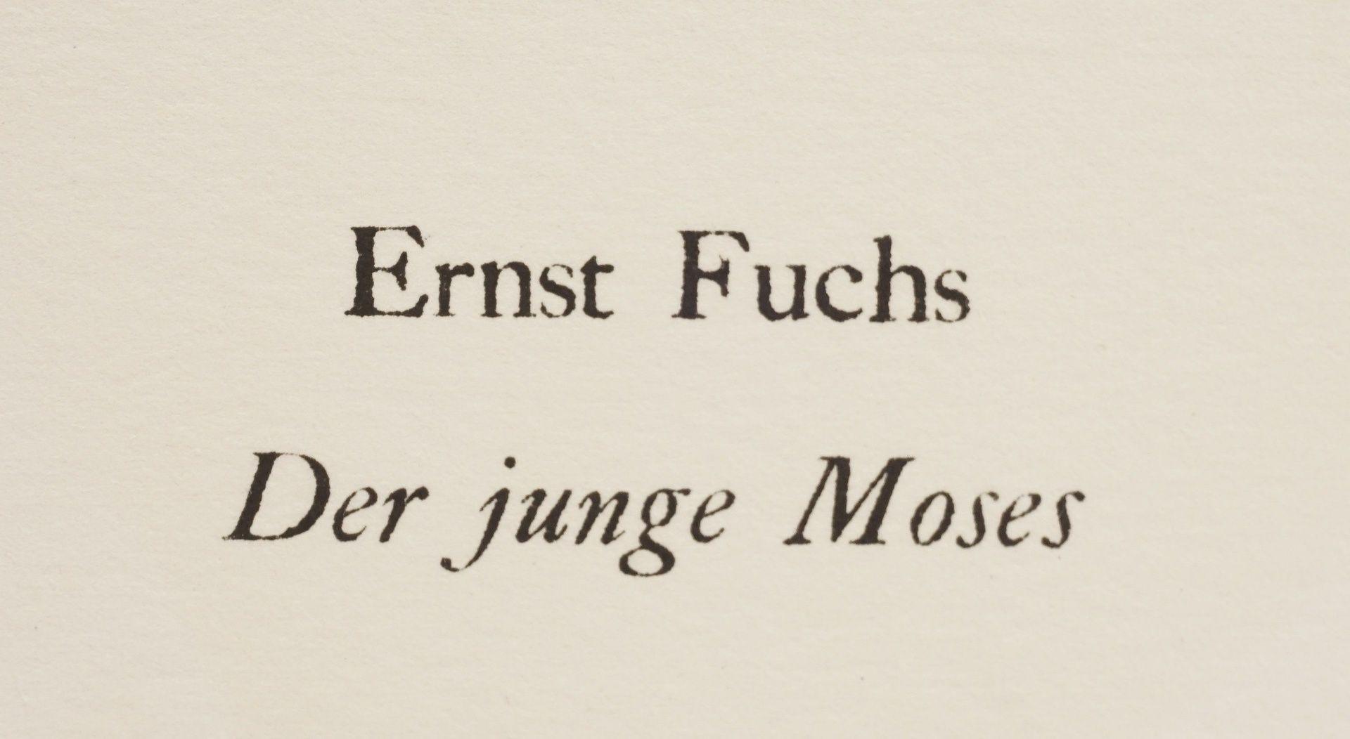 """Ernst Fuchs, """"Der junge Moses"""" - Bild 4 aus 5"""