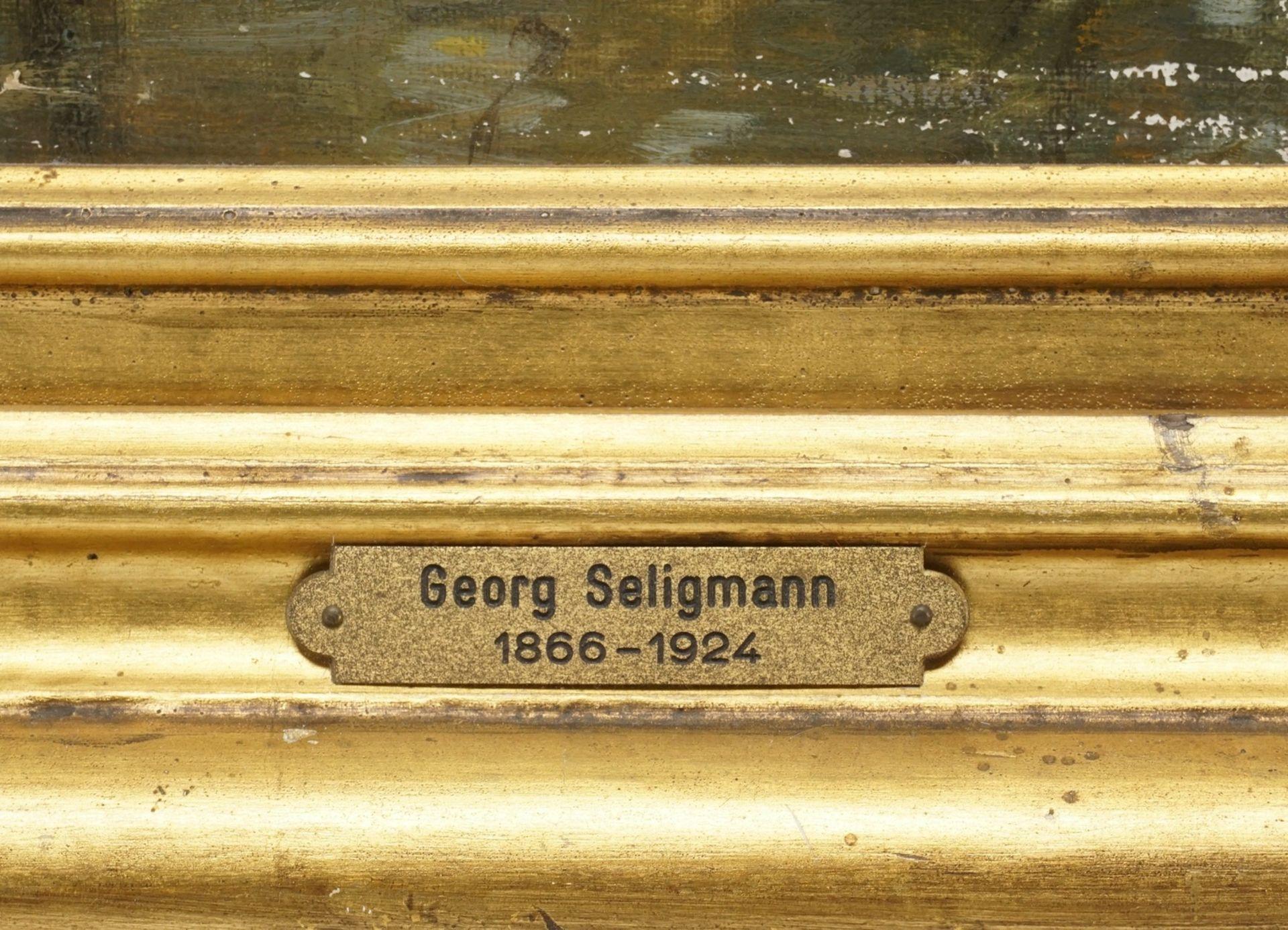 """Georg Sofus Seligmann, """"Flußlandschaft"""" - Bild 4 aus 5"""
