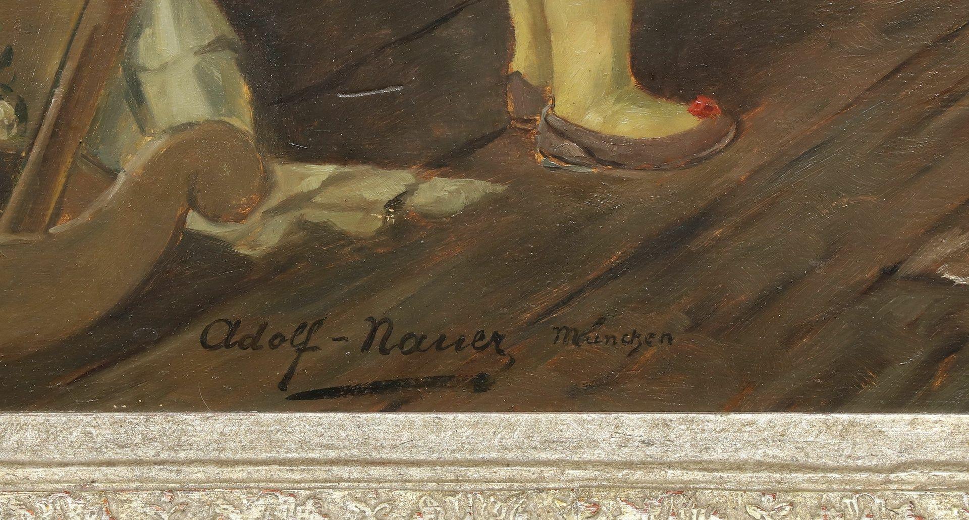 Adolf Nauer, Beim Zitherspiel - Bild 4 aus 4