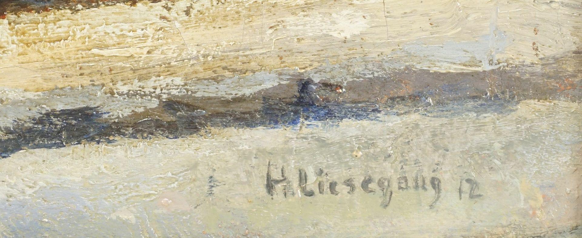 Helmuth Liesegang, Ortsansicht mit Blick auf die Kirche - Bild 4 aus 4