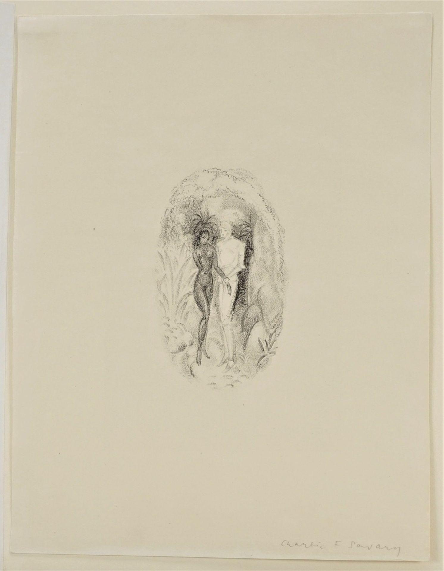 C.F. Savary, Der Ritter und das Mädchen - Bild 3 aus 5
