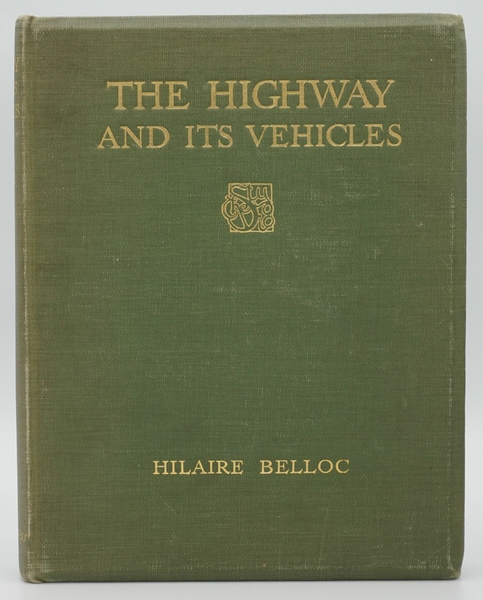 """Hilaire Belloc, """"The Highway and its Vehicles"""""""