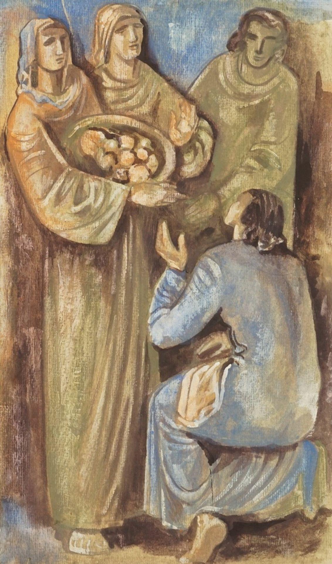 Richard Schwarzkopf, Speisung der Armen ( )