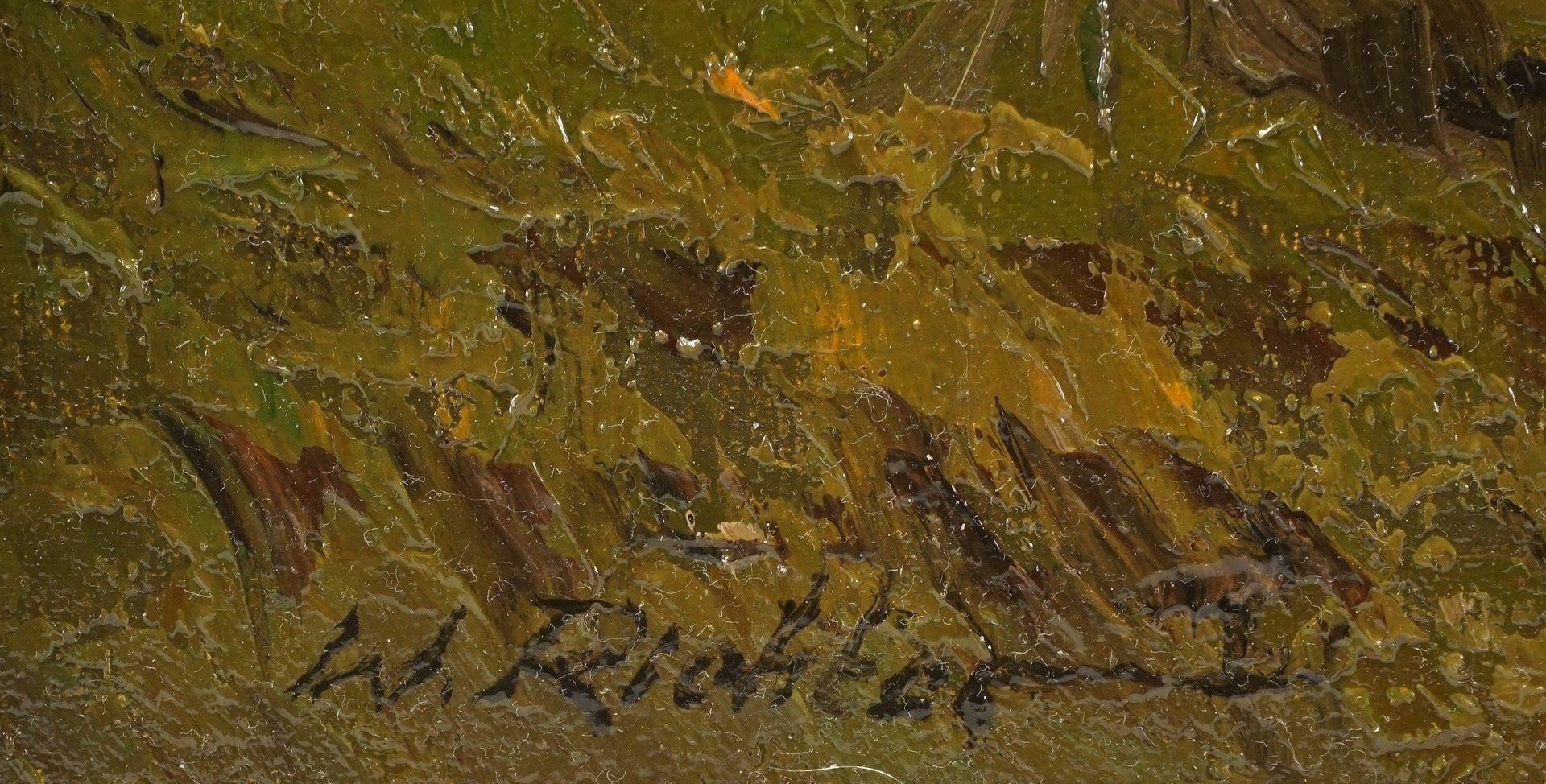 """Walter Richter, """"Weite Harzlandschaft"""" - Bild 4 aus 4"""