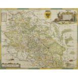 """Johannes Janssonius, """"Silesiae Ducatus"""" (Landkarte des Herzogtums Schlesien)"""
