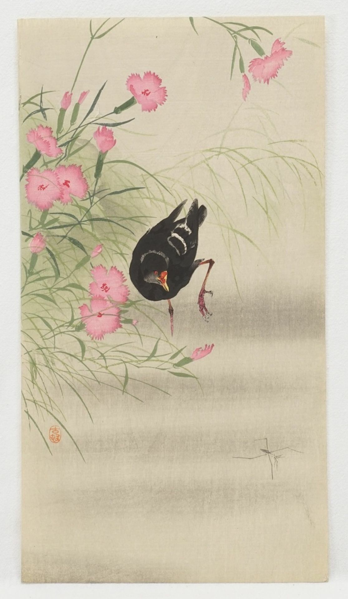 Konvolut Holzschnitte mit Vögeln - Bild 3 aus 4