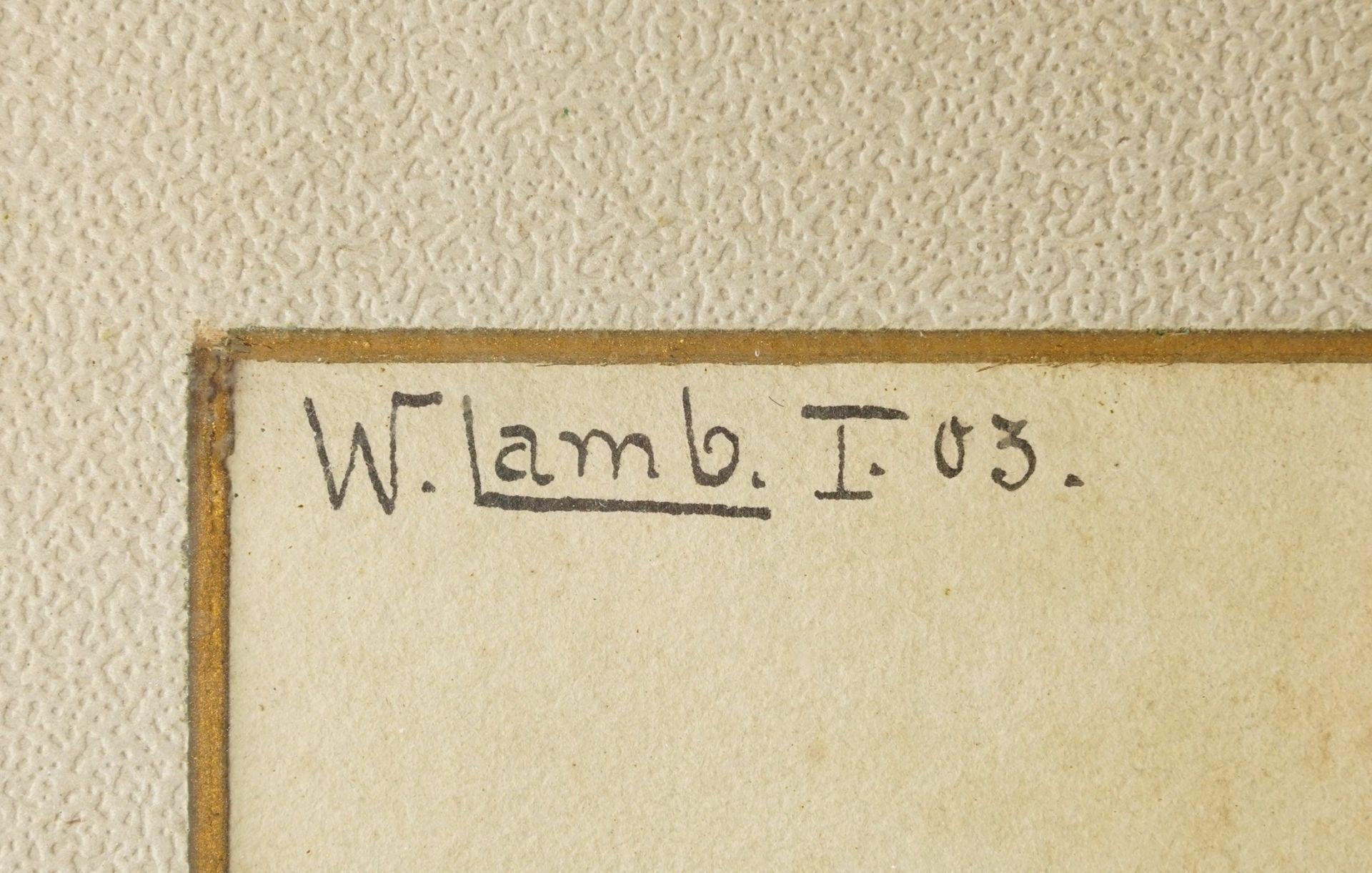 W. Lamb, Kirsch- und Apfelzweig - Bild 3 aus 6