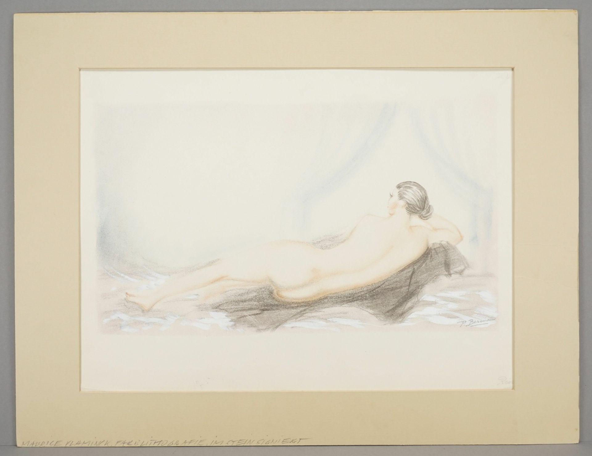 "P. Berniand ( ), ""Rêverie (Träumerei)"" - Bild 3 aus 4"
