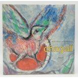 """André Pieyre de Mandiargues, """"Chagall"""", mit einer Originallithografie"""
