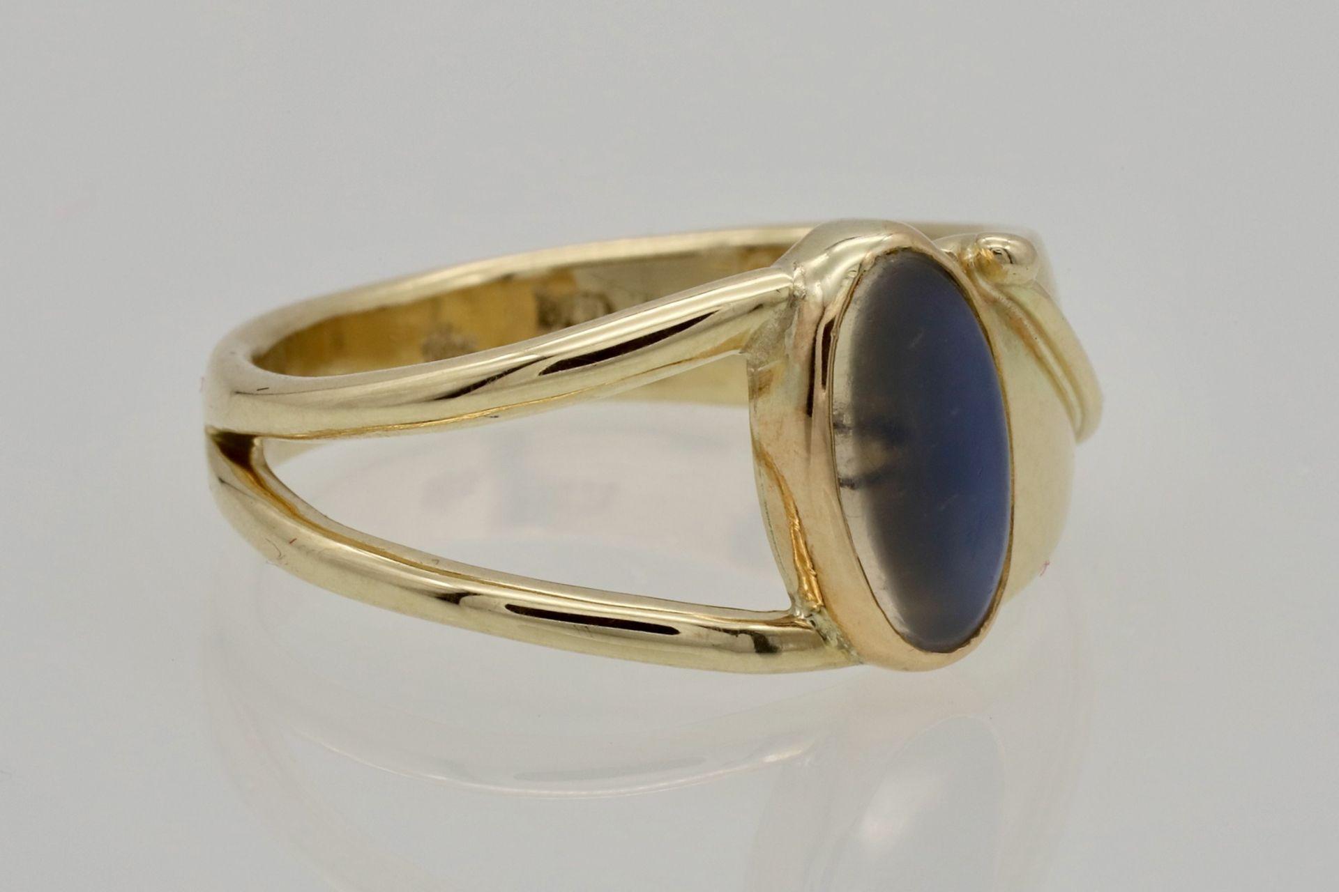 Zeitloser Mondstein-Ring