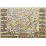 """Daniel de la Feuille, """"Carte Nouvelle de Transilvanie avec les Confins"""" (Landkarte von ..."""