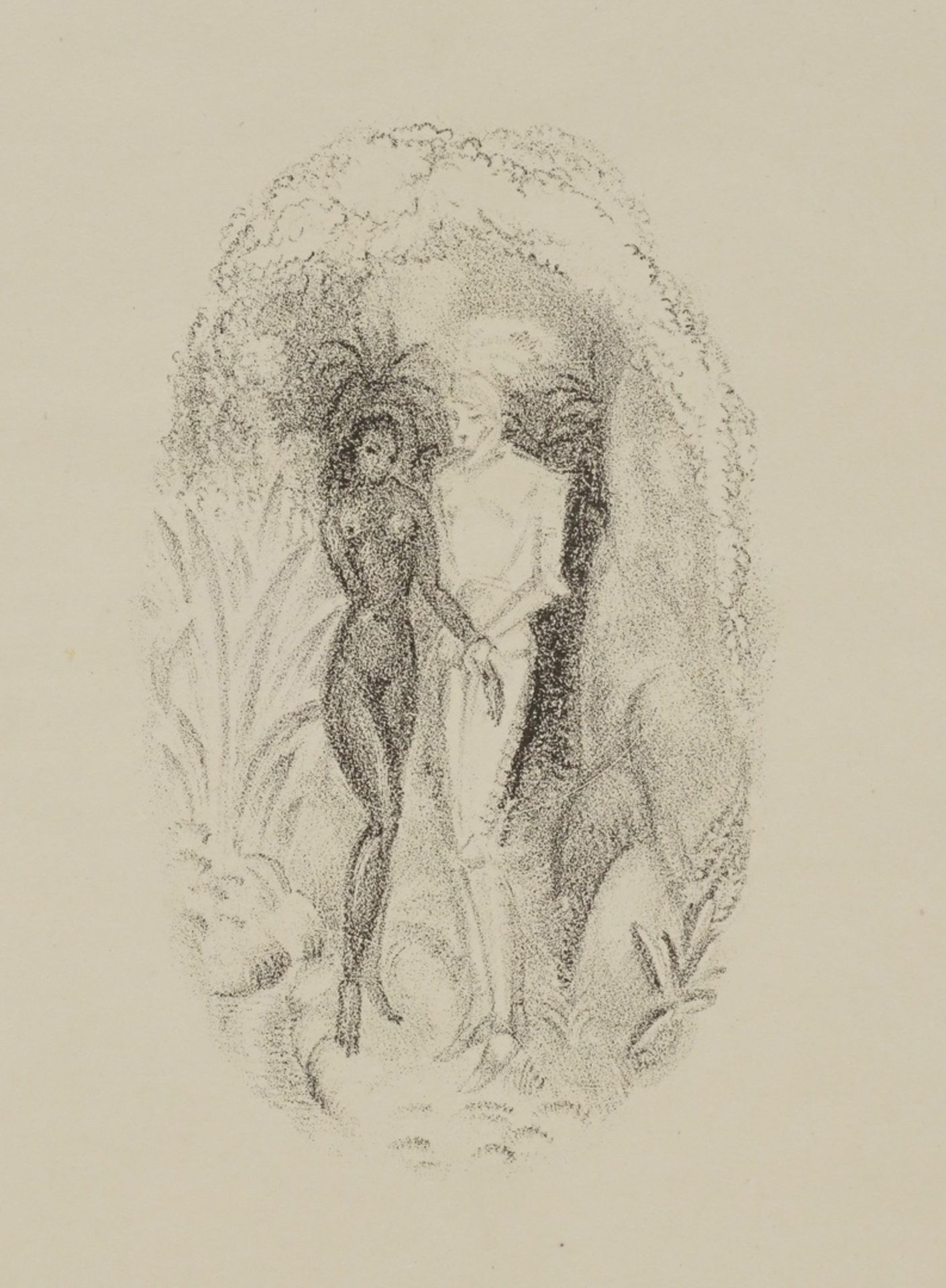 C.F. Savary, Der Ritter und das Mädchen