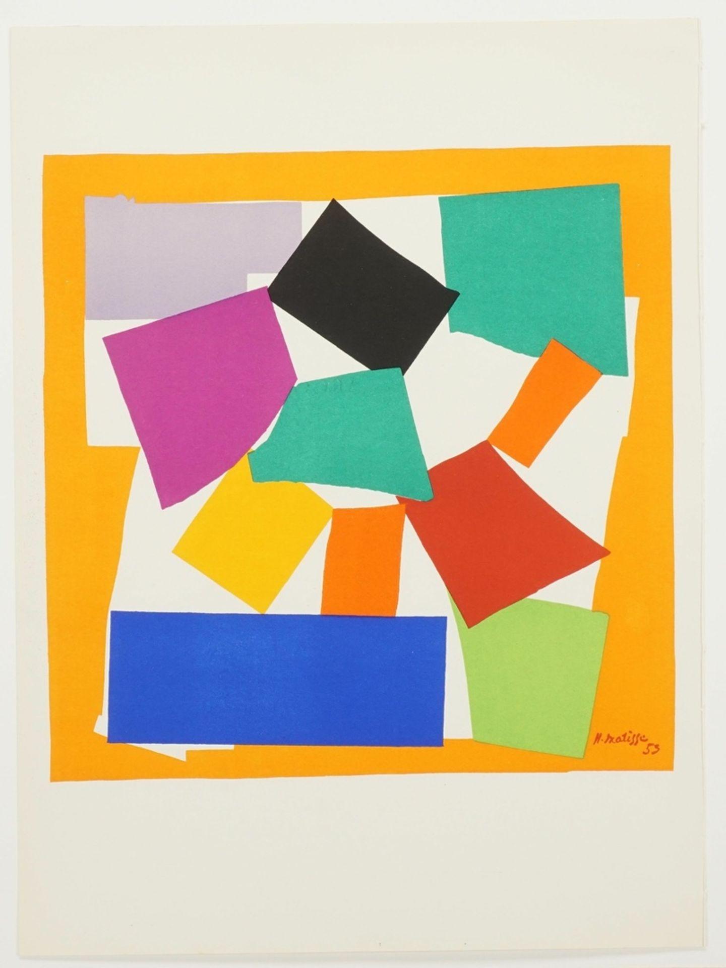 """Henri Matisse, """"L'escargot"""" (Die Schnecke) - Bild 3 aus 5"""