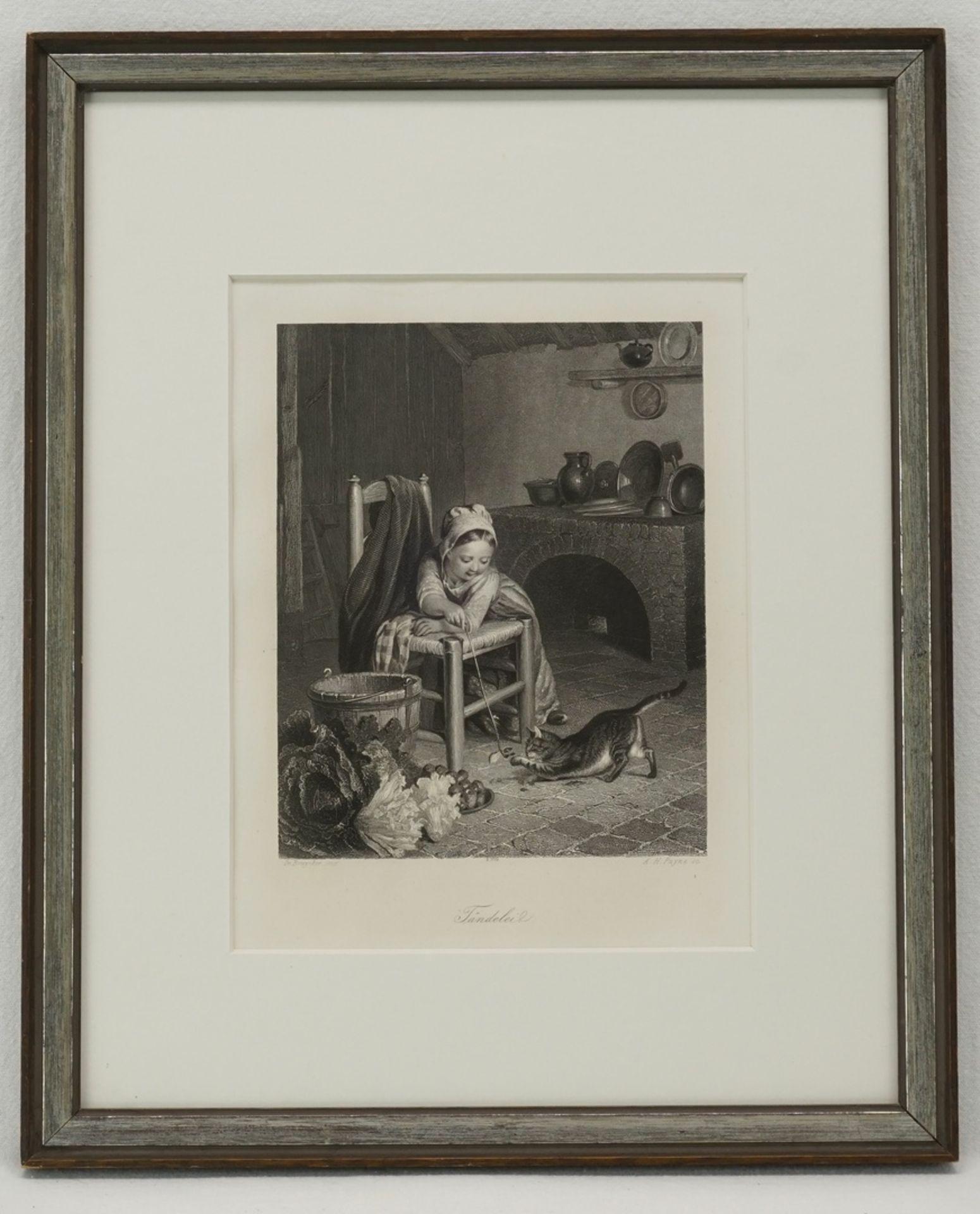 """Albert Henry Payne, """"Tändelei"""" - Bild 2 aus 2"""