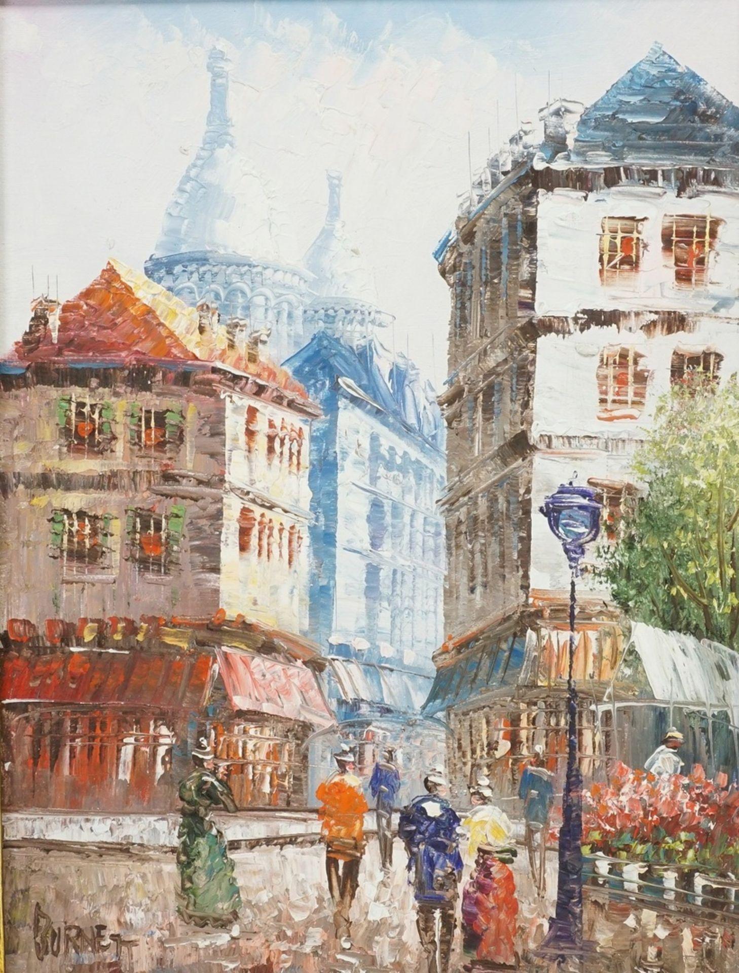 Burnett, Paris - am Montmartre