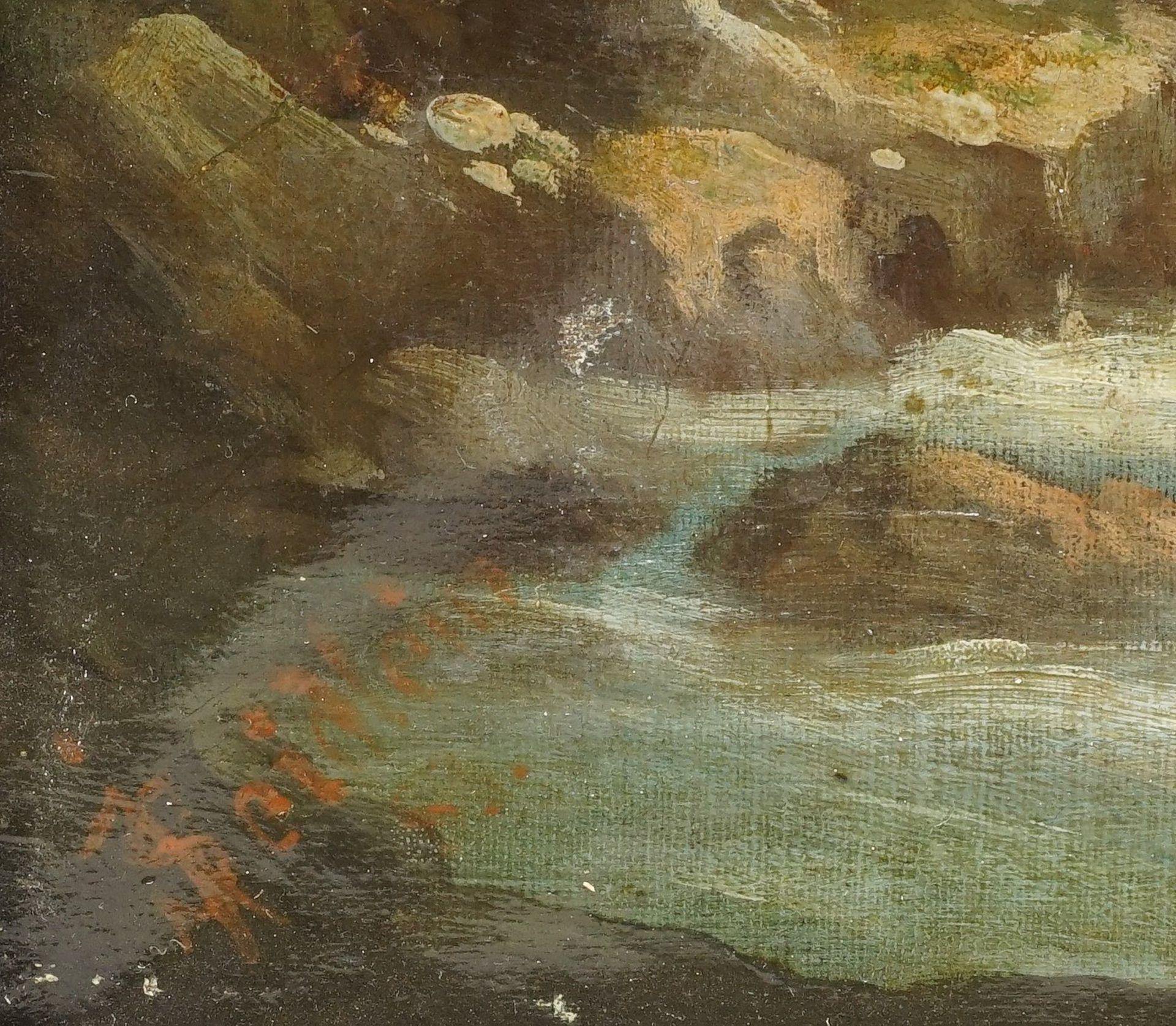 J. Seidlein, Alpenbach in den Dolomiten - Bild 4 aus 4