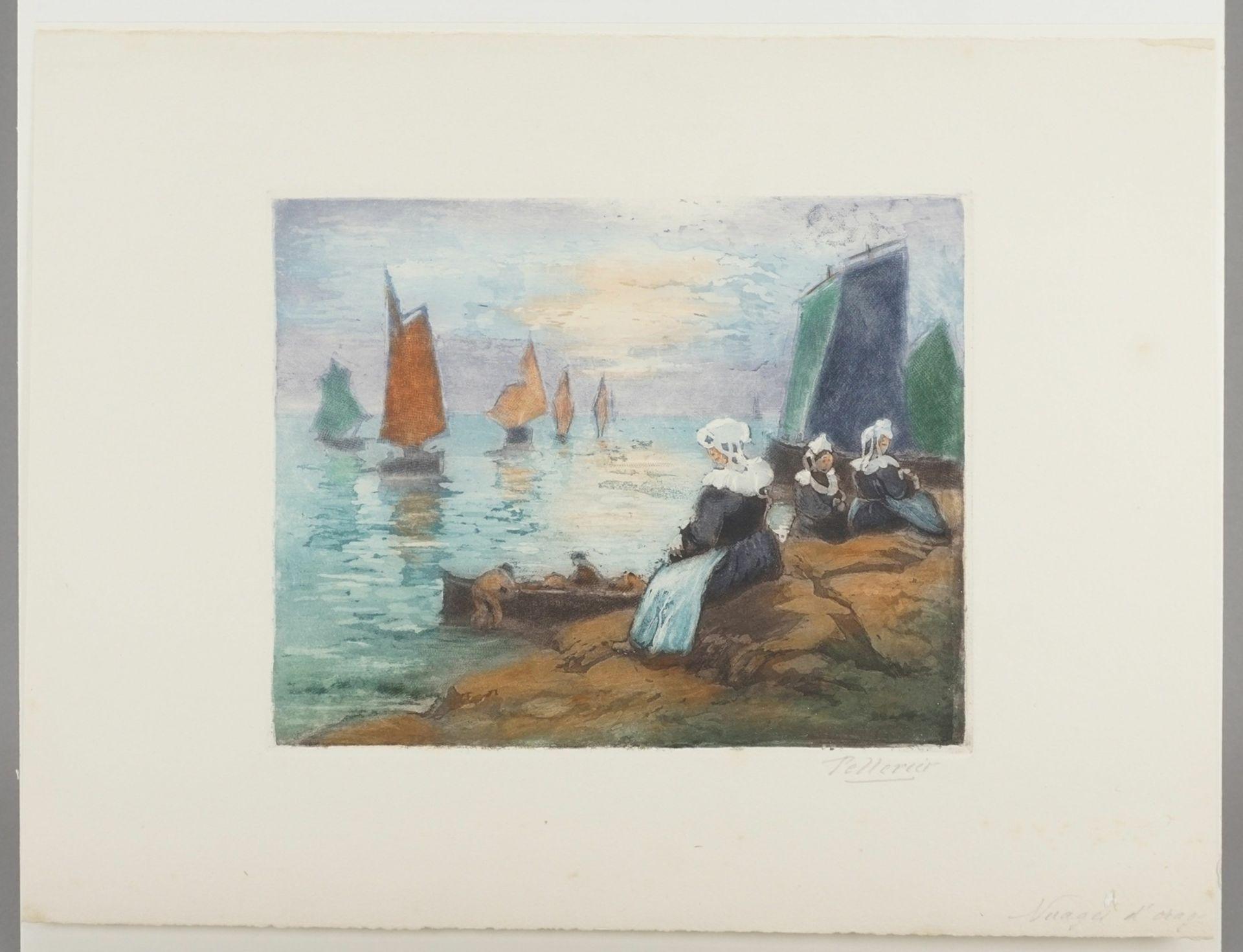 """Maurice Pellerier, """"Nuages d'orage"""" (Gewitterwolken) - Bild 3 aus 4"""